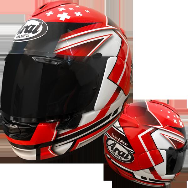 Arai Helm Limited Edition Schweiz